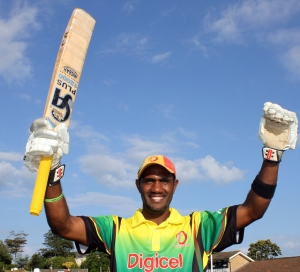 Andrew Mansale of Vanuatu who scored a MOM century