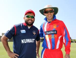 Captains Hisham Mirza and Peter Gough (1)